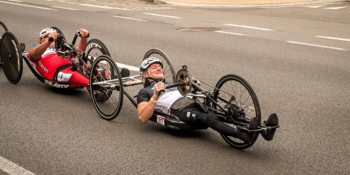 Handbike cyklistika, sportujte s větrem ve vlasech