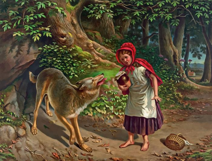 Pozor na vlka Karkulko